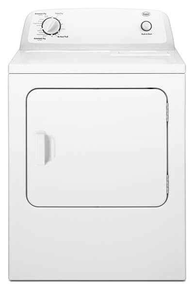 Roper® 6.5 cu. ft. Top-Load Gas Dryer with Automatic Dryness Control